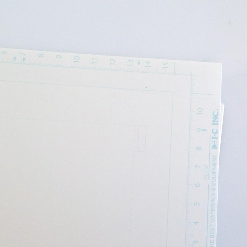 Papier I-C avec Tachikiri