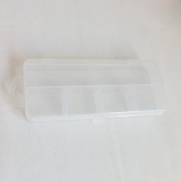 Boîte de rangement 5 compartiments