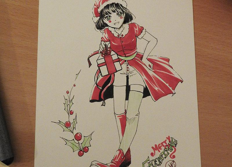 Cadeaux de Noël manga